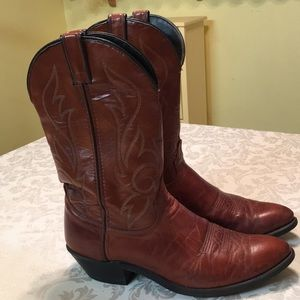 Laredo Brown Leather Cowboy/Western Boots